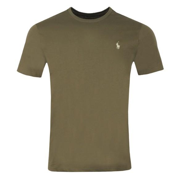 Polo Ralph Lauren Mens Green Custom Slim Fit T-Shirt