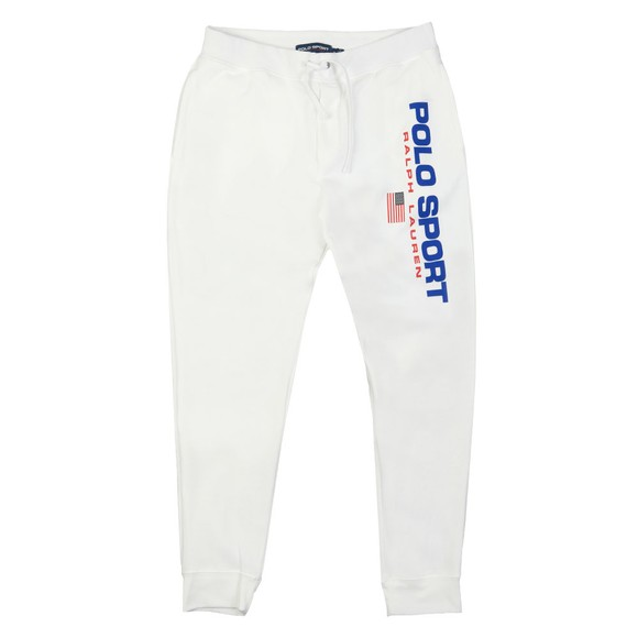 Polo Sport Ralph Lauren Mens White Side Logo Jogger