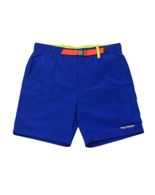 Polo Ralph Lauren Mens Blue Utility Swim Short