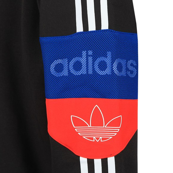 adidas Originals Mens Black Signature Trefoil Hoodie