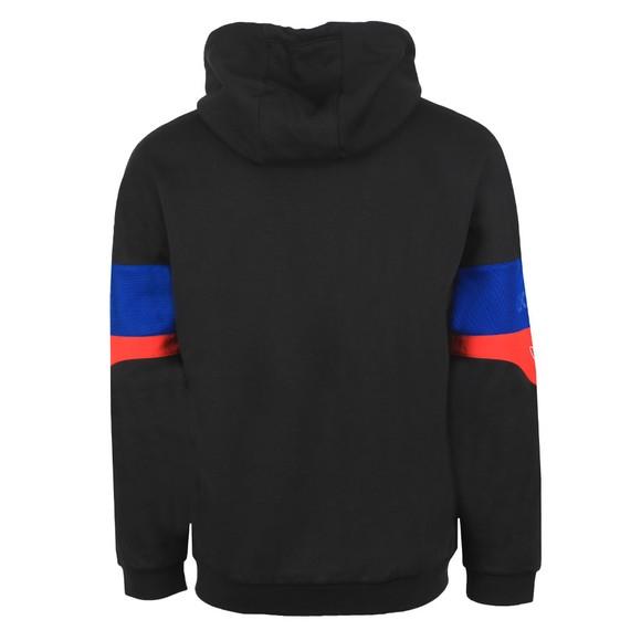 adidas Originals Mens Black Signature Trefoil Hoodie main image