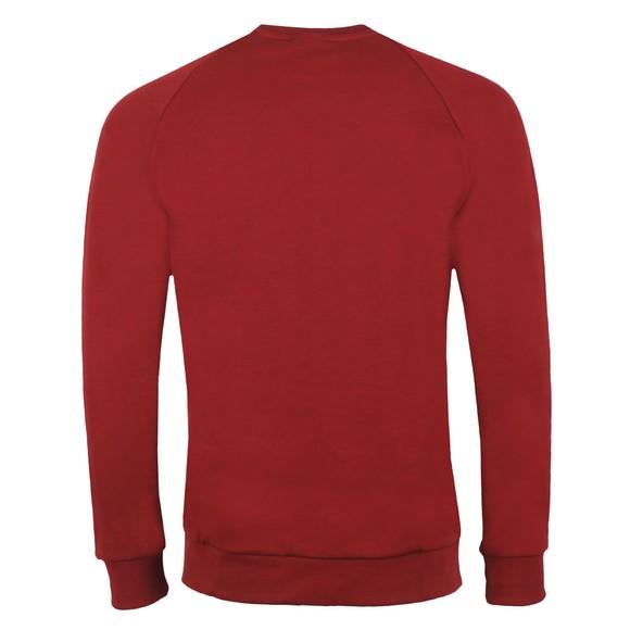 adidas Originals Mens Red Essential Crew Neck Sweatshirt main image