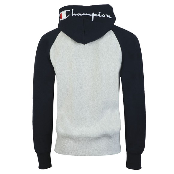 Champion Reverse Weave Mens Grey 2 Tone Overhead Hoodie main image