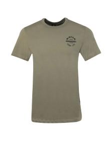 G-Star Mens Green Originals Small Logo T-Shirt