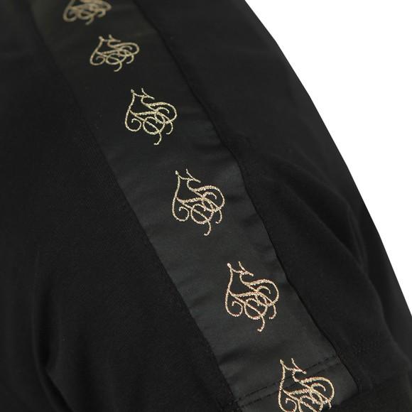 Sik Silk Mens Black S/S Raglan Tech T-Shirt main image