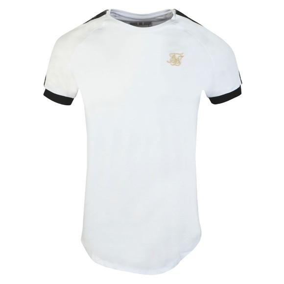 Sik Silk Mens White S/S Raglan Tech T-Shirt