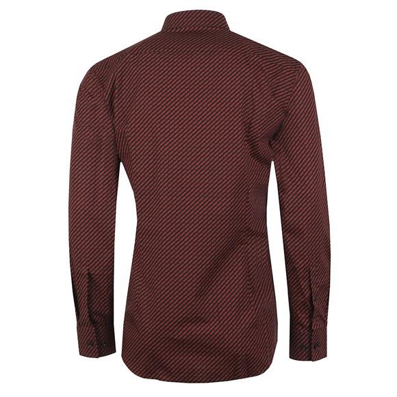 HUGO Mens Purple Kenno Pattern Shirt main image