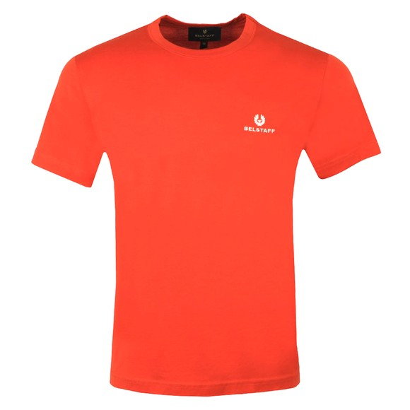 Belstaff Mens Orange Small Logo T-Shirt