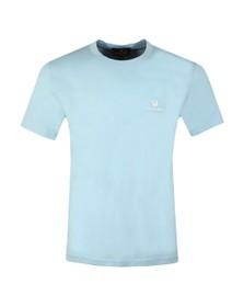 Belstaff Mens Blue Small Logo T-Shirt