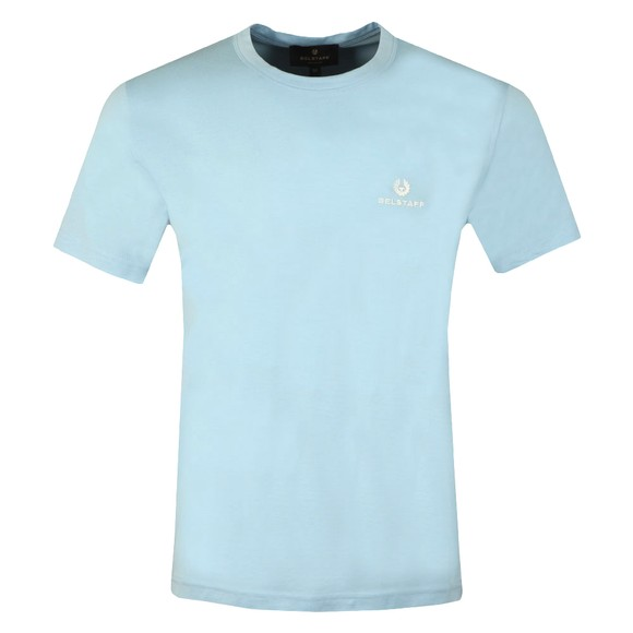 Belstaff Mens Blue Small Logo T-Shirt main image