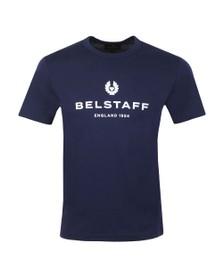 Belstaff Mens Blue 1924 T Shirt