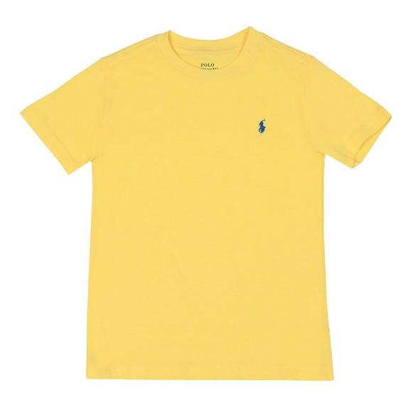 Polo Ralph Lauren Boys Yellow Crew Neck T-Shirt main image