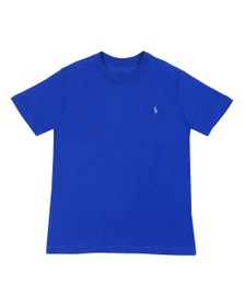 Polo Ralph Lauren Boys Blue Boys Crew Neck Tee
