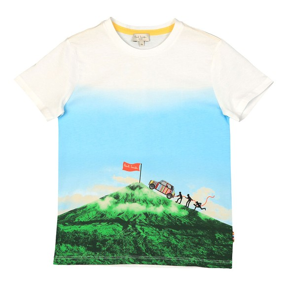 Paul Smith Junior Boys White Abelio T-Shirt
