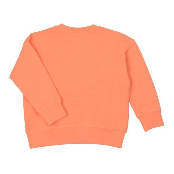 Kenzo Kids Girls Pink Elephant Logo Sweatshirt