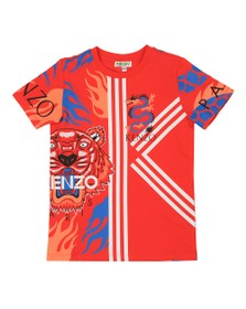 Kenzo Kids Boys Red Dragon Celebration T-Shirt