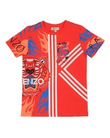 Kenzo Kids Boys Red Dragon Celebration T-Shirt