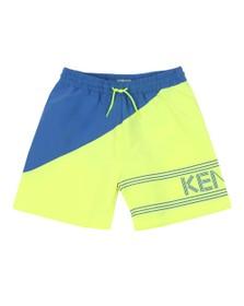 Kenzo Kids Boys Yellow 2 Tone Swim Short