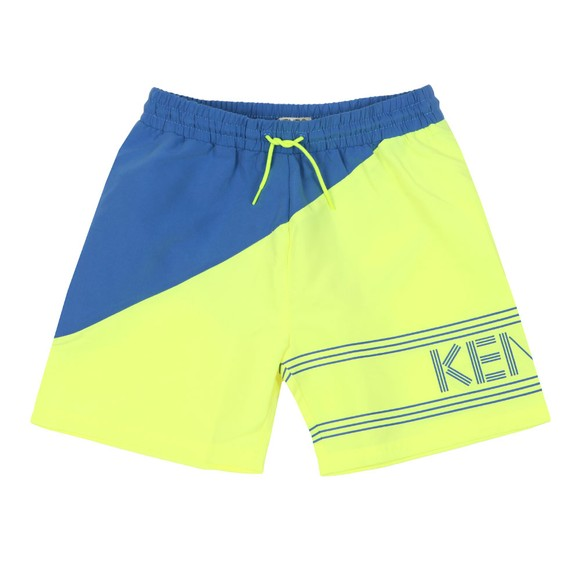 Kenzo Kids Boys Yellow 2 Tone Swim Short