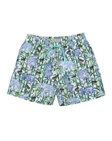 Kenzo Kids Boys White Disco Jungle Swim Short