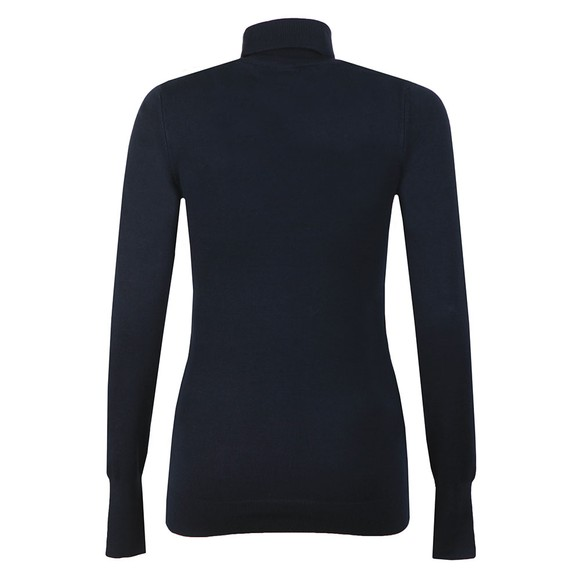 Holland Cooper Womens Blue Luxe Roll Neck main image