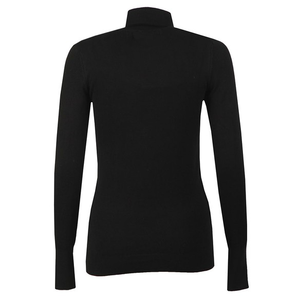 Holland Cooper Womens Black Luxe Roll Neck main image