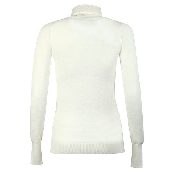Holland Cooper Womens Off-White Luxe Roll Neck main image
