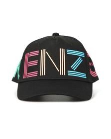 Kenzo Kids Girls Black Logo Cap