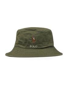 Polo Ralph Lauren Mens Green Loft Bucket Hat