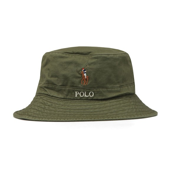 Polo Ralph Lauren Mens Green Loft Bucket Hat