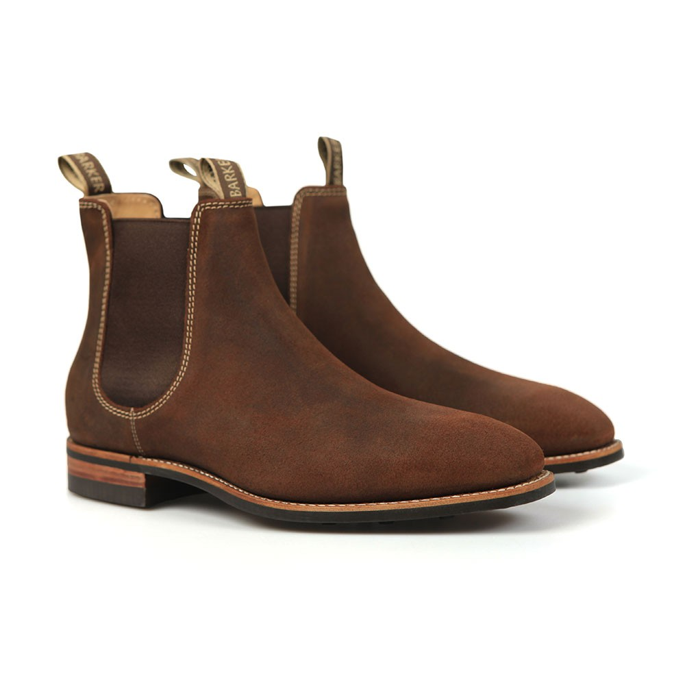 Mansfield Suede Rubber Sole Boot main image