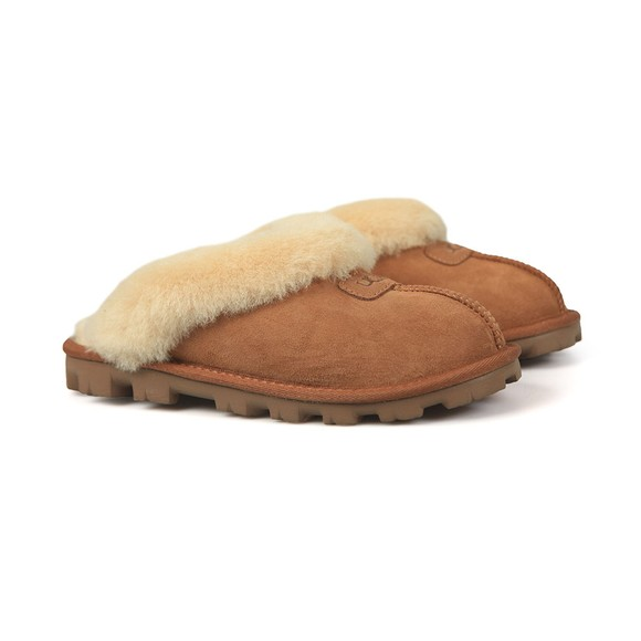 Ugg Womens Brown Coquette Slipper main image