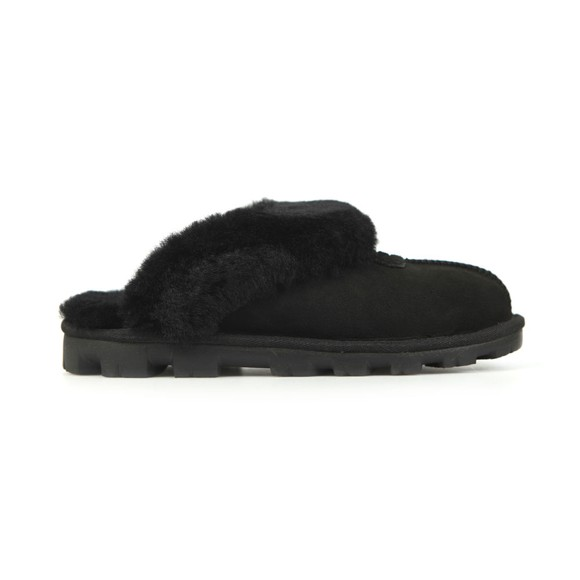 Ugg Womens Black Coquette Slipper main image
