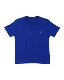 Polo Ralph Lauren Boys Blue Baby Crew Neck T Shirt