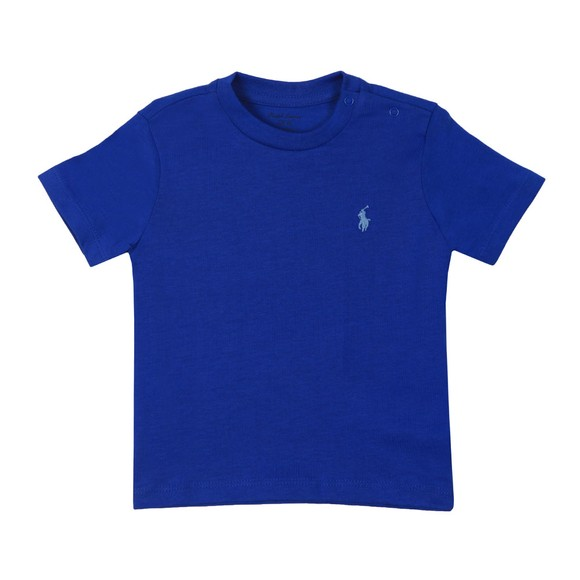 Polo Ralph Lauren Boys Blue Baby Crew Neck T Shirt main image