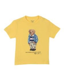 Polo Bear By Ralph Lauren Boys Yellow Baby Bear T Shirt