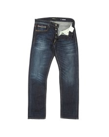 Replay Mens Blue New Grover Straight Fit Jean