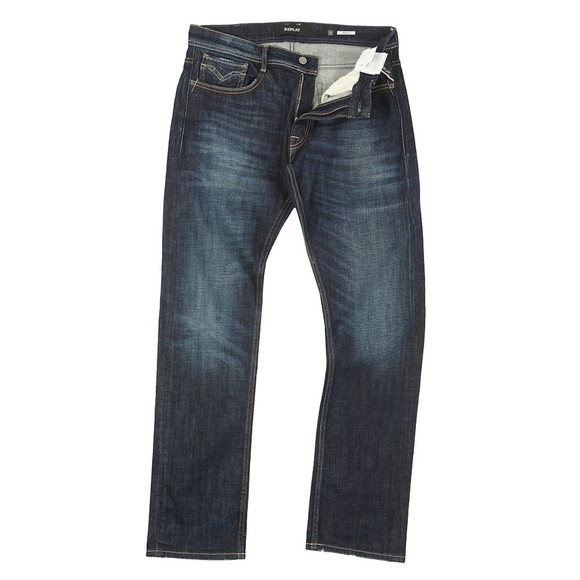 Replay Mens Blue Rocco Jean