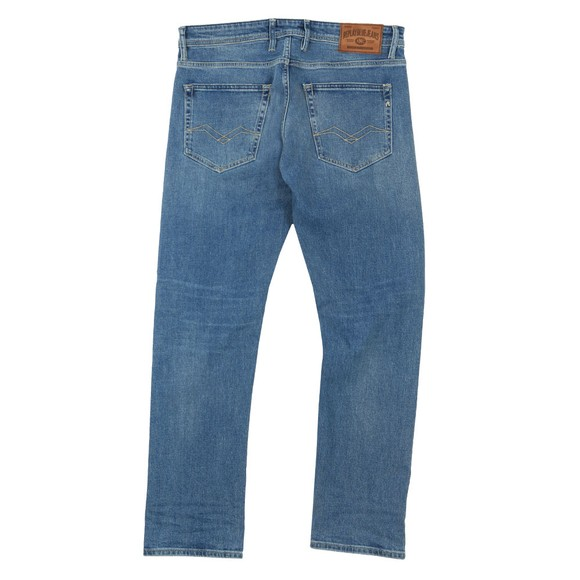 Replay Mens Blue New Grover Straight Fit Jean main image