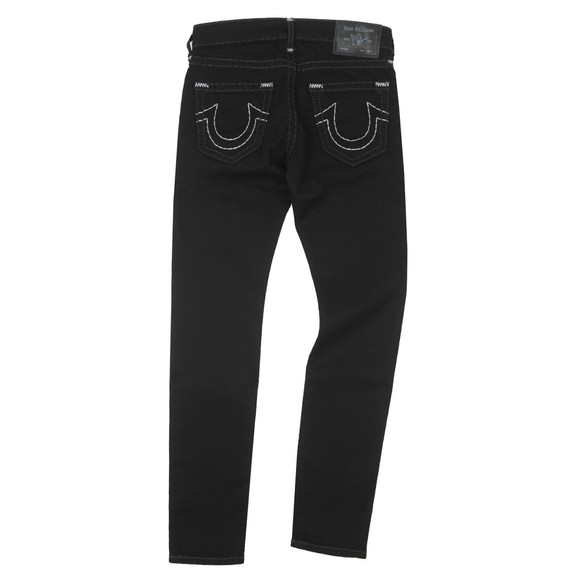 True Religion Mens Black Tony No Flap Super T Jean main image