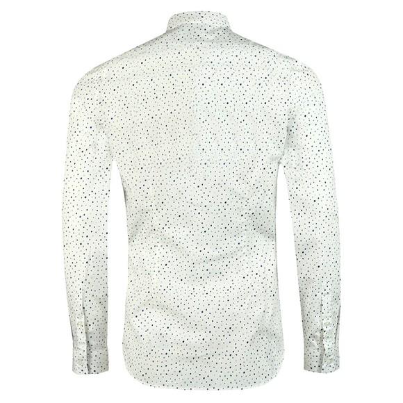 PS Paul Smith Mens White Dot Print Shirt main image