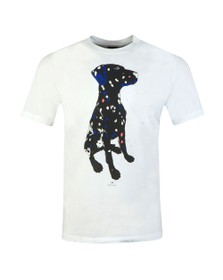 PS Paul Smith Mens White Dalmati T-Shirt