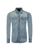 Twin Pocket Denim Shirt