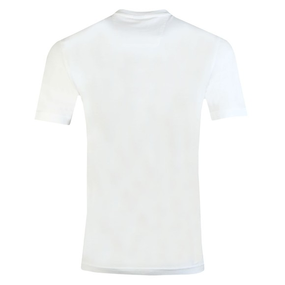 BOSS Mens White Athleisure Tee 4 Large Logo T Shirt main image