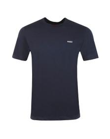HUGO Mens Blue Deres T Shirt