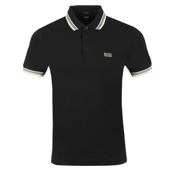 BOSS Mens Black Athleisure Paddy Polo Shirt