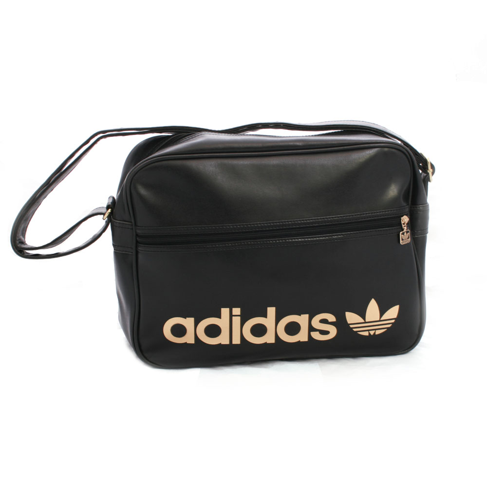 d48bcfdbb2 adidas Originals Adidas Black Gold AC Airline Bag