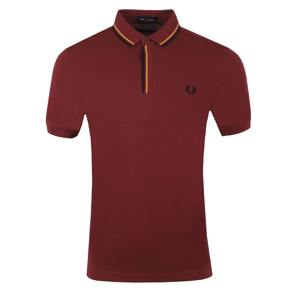 Fred Perry Mens Red Tipped Placket Polo