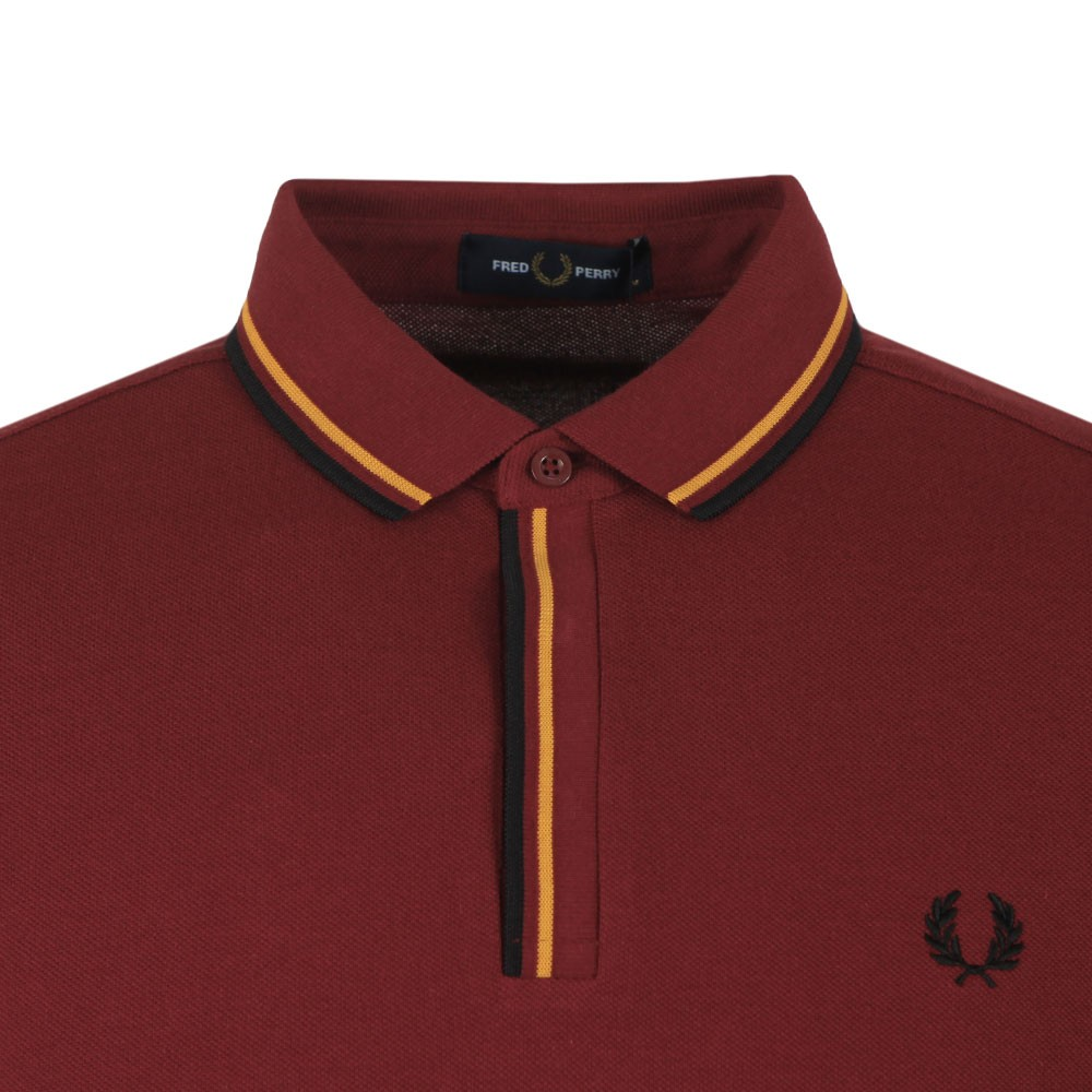 Tipped Placket Polo main image