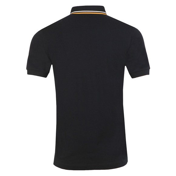 Fred Perry Mens Black Tipped Placket Polo main image